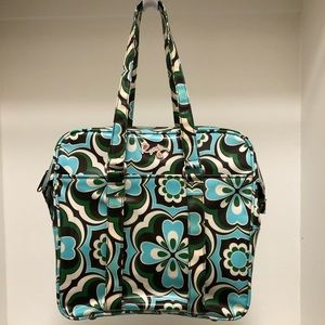 Roxy Coated Canvas Large Overnight Tote Bag